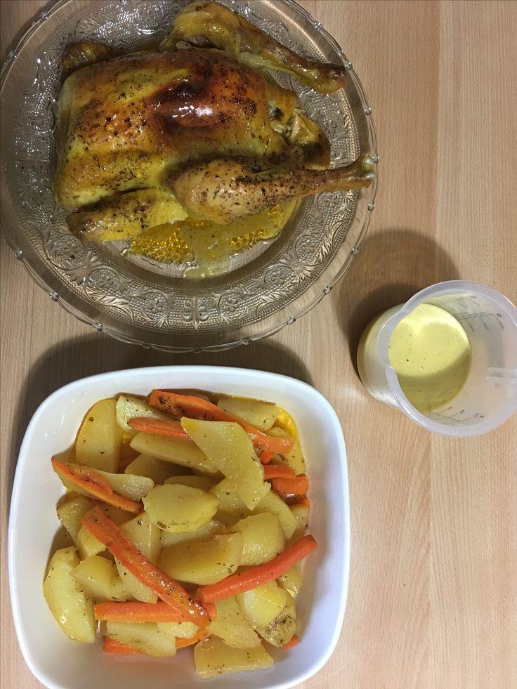 Κοτόπουλο στο φούρνο με λαχανικά at cooklos.gr