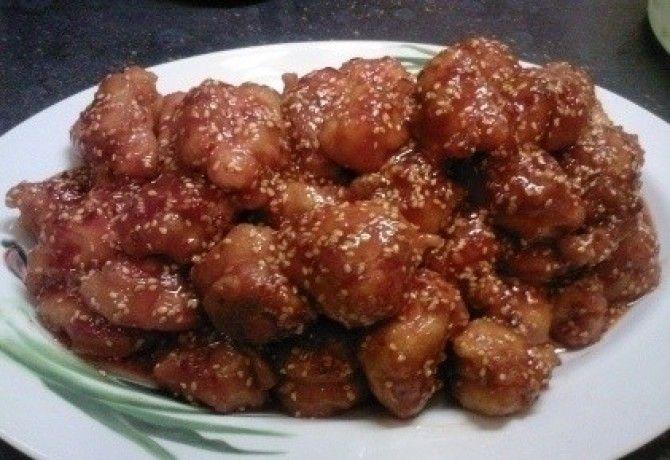 Kínai szezámmagos csirke recept képpel. Hozzávalók és az elkészítés részletes…