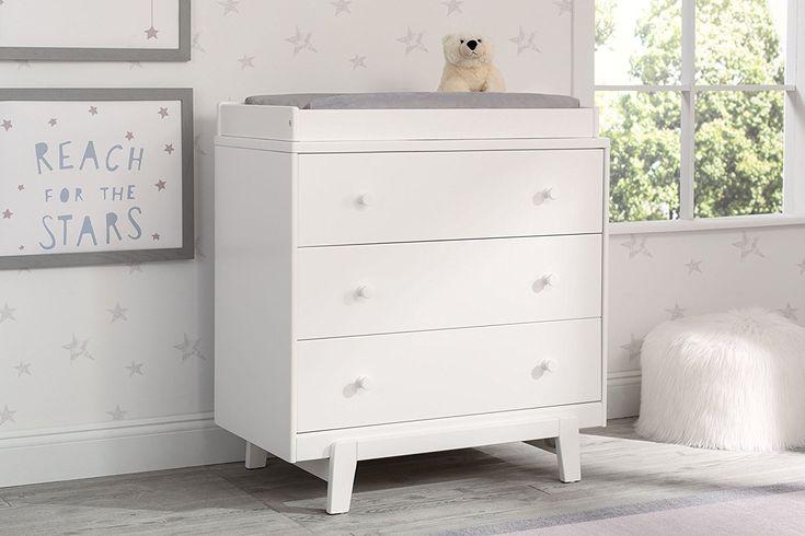 Best Delta Children Quinn 3 Drawer Dresser With Changing Top 400 x 300