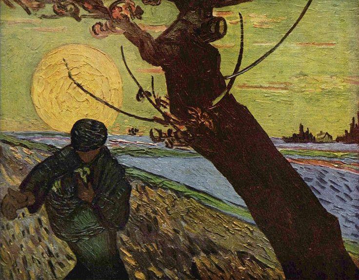 Vincent van Gogh, Sower at Sunset