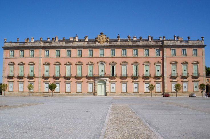 El palacio de Riofrio era absolutamente italiano en concepto y nunca llego a terminarse.