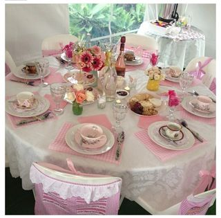 Lovely guest table