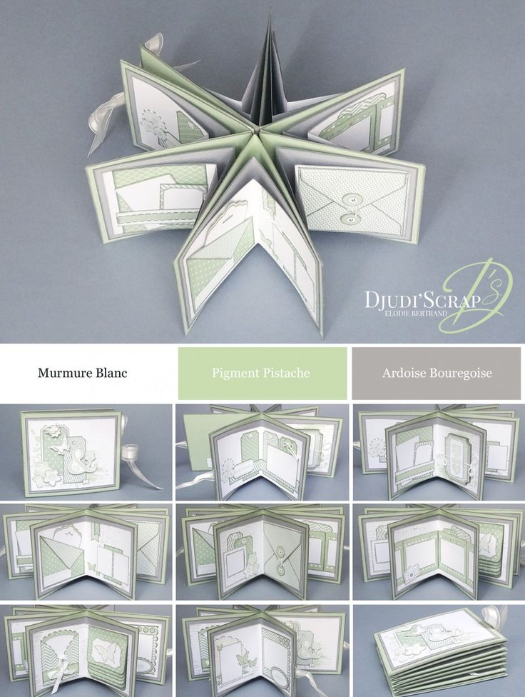 Djudi'Scrap Stampin'Up! - Tutoriel Mini Album en Etoile