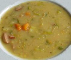 Hustá hrachová polievka