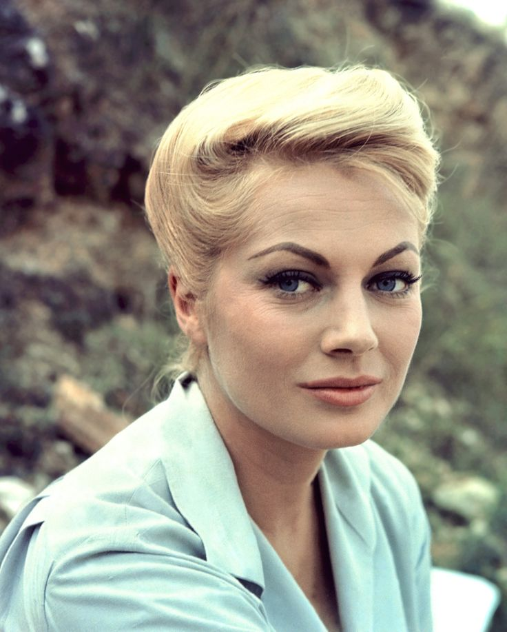 Anita Ekberg, actress (La Dolce Vita, Paris Holiday, Back from Eternity),