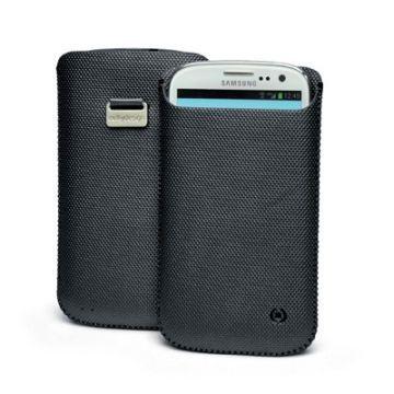 Husa Celly Corretto Neagra Samsung Galaxy S3