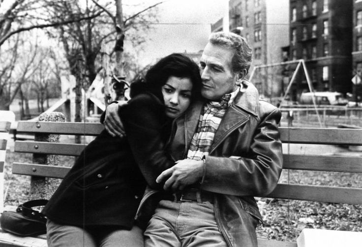 Paul Newman and Rachel Ticotin in Fort Apache, The Bronx, 1981
