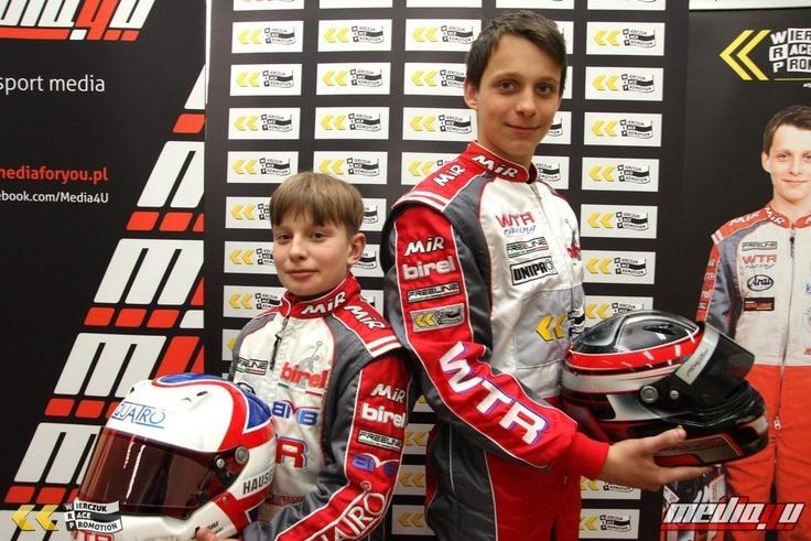 Our guys:) Michał Grzyb i Jan Antoszewski Wierczuk Race Promotion