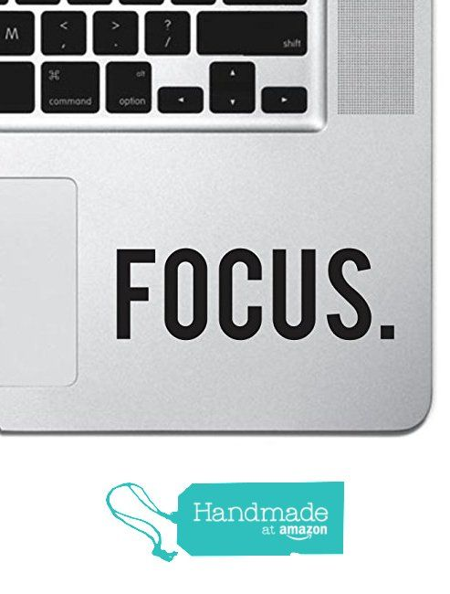 Focus sticker decal macbook pro air 13 15 17 keyboard keypad mousepad trackpad laptop retro vintage motivational text quote laptop sticker ipad sticker