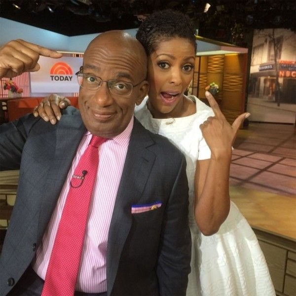 Blue Ivy's Adorable Afro Puffs + Today Show Anchor Tamron Hall Shows Off Natural Curls On Air