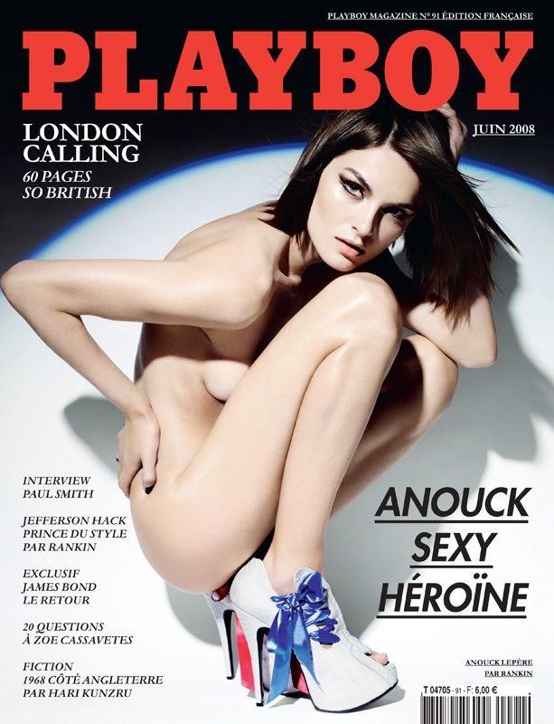 Playboy Cover Anouck