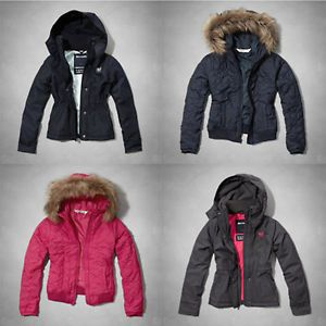 Abercrombie Kids Girls All Season Warrior Jacket Quited Heart ...