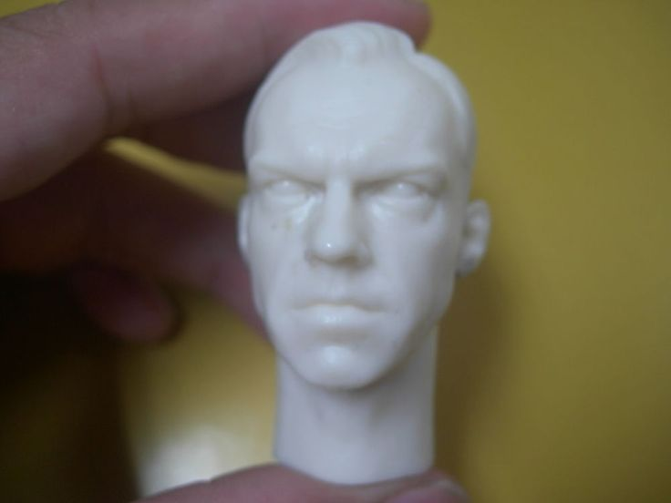 "1/6 Scale custom Agent Smith Matrix Resin Head Sculpt for 12"" action figure #Unbranded"