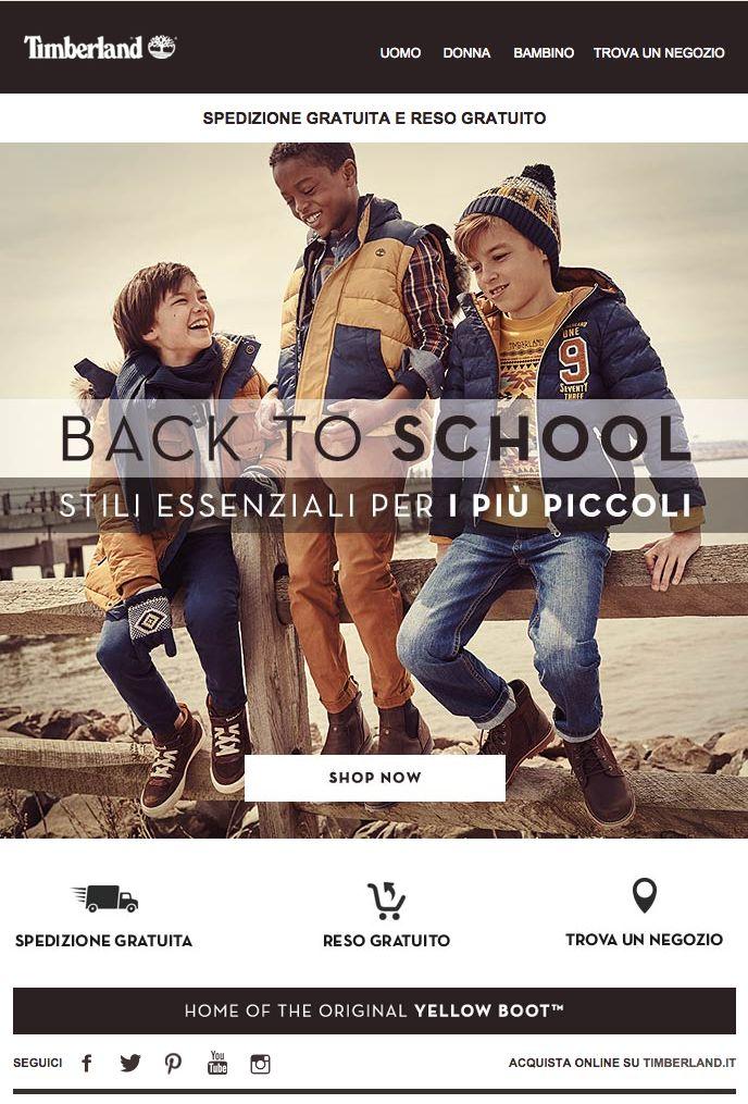 Timberland | Back to School | Stili essenziali per i più piccoli | Timberland