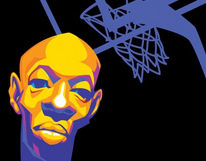 "#illustration #NBA #Cassell #JasonMamone Check out new work on my @Behance portfolio: ""Self Promos 2001"" http://be.net/gallery/36855733/Self-Promos-2001"