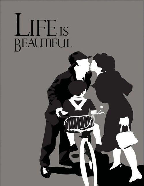 Buongiorno, principessa! Life Is Beautiful by Luz Delgado.