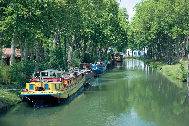 Suivez le fil vert de Toulouse : le Canal du Midi © José Manuel Herrador #visiteztoulouse