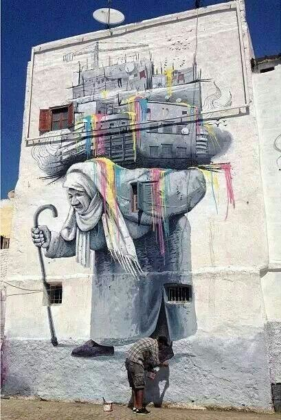 Street Art from Morocco