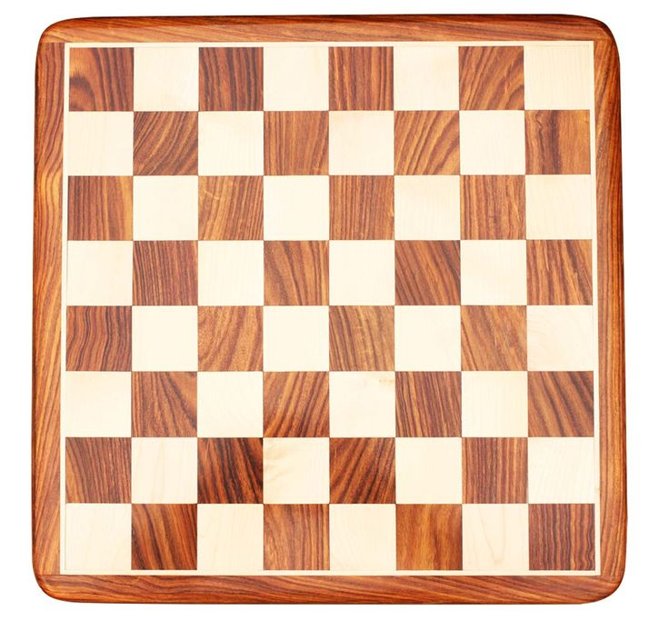 "Wholesale Rosewood 18x18"" Chess Board - Bulk Buy Handmade Wooden Beige & Brown Chess Board from India"