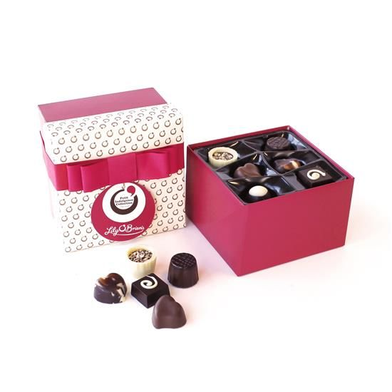 Lily O'Brien's Petit Indulgence Collection, 18 Chocolates, 170g available at LilyOBriens.ie