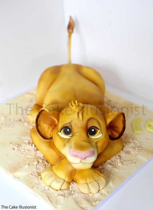 Simba Cake by Hannah