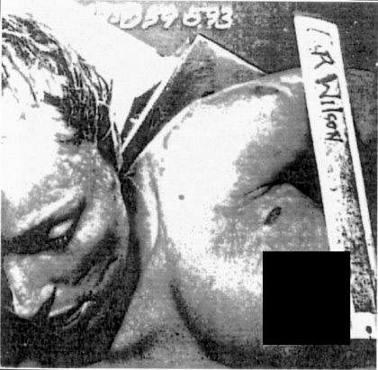sharon tate   coroner s photo manson murders   warning