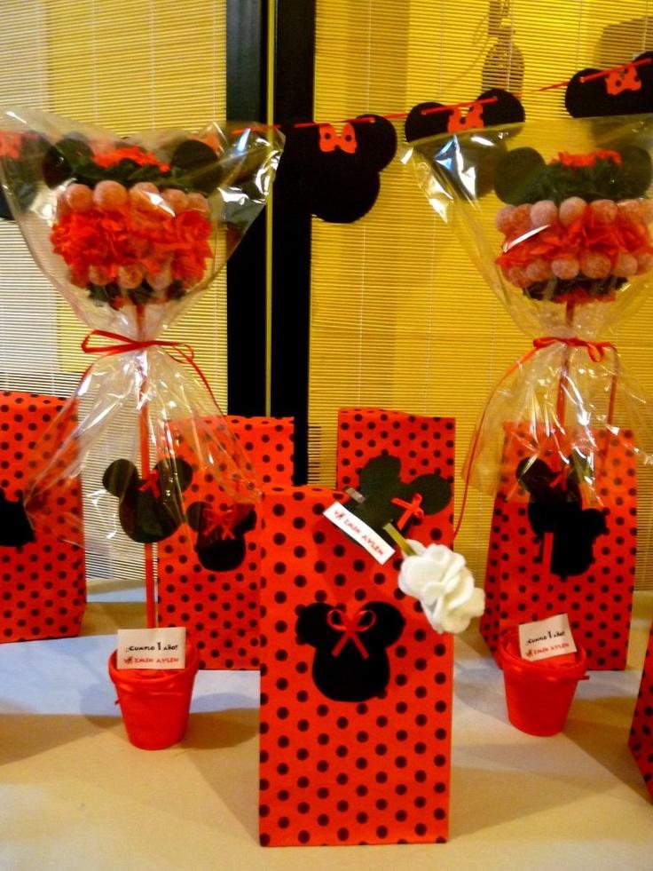 Fiesta Tematica Cumple Minnie Y Mickey !