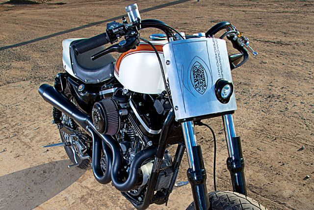 Harley Davidson Street Tracker ~ Return of the Cafe Racers