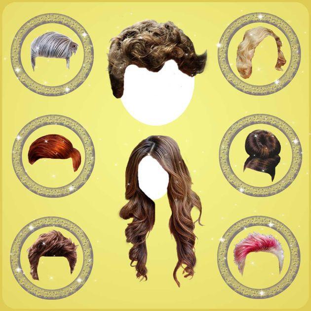 #NEW #iOS #APP Hairstyles man woman haircut - Vera Polyachenko