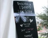 Wedding Decor and Keepsake - Love Story
