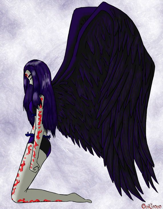 Birthmark by OniCrono on DeviantArt those are some beautiful wings