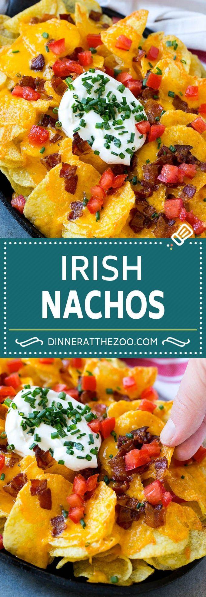 Irish Nachos Recipe | Potato Nachos | Potato Chip Recipe | Appetizer Recipe