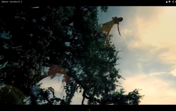 Shot from Slipknot video: Vermillion, Pt. 2