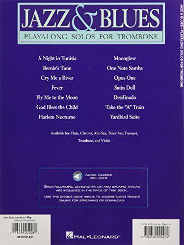 Jazz & Blues: Playalong Solos for Trombone