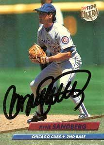 Ryne SandbergSports Team, Ryne Sandberg, Sandberg Basebal, Favorite Sports, League Baseball, Chicago Cubs, Cubs Baby, Chicago Bears, Sandberg Autograph