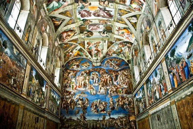 Discover the answers to some of the most common questions about Michelangelo's The Sistine Chapel ceiling, one of the world's most famous paintings.
