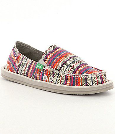 Sanuk Donna Tribal Shoes #Dillards