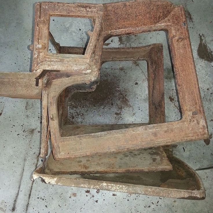 Hometalk How To Restore An Old Cast Iron Wood Burning
