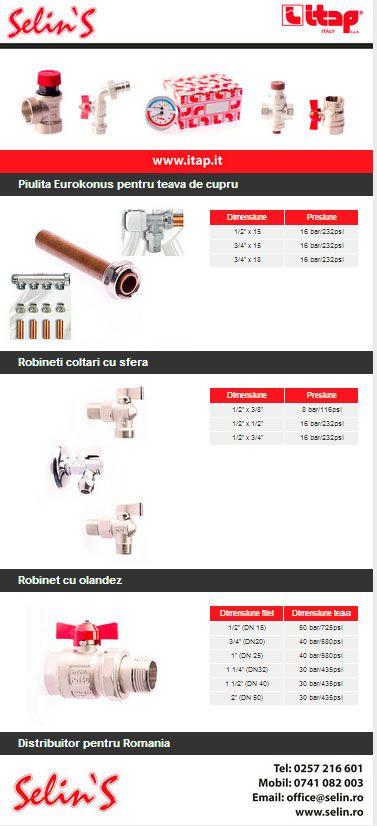 Selin's: Distribuitor ITAP pentru Romania