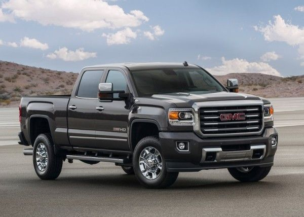 2015 GMC Sierra All Terrain HD Front Exterior View 600x428 2015 GMC Sierra All Terrain HD Review, Features with Images