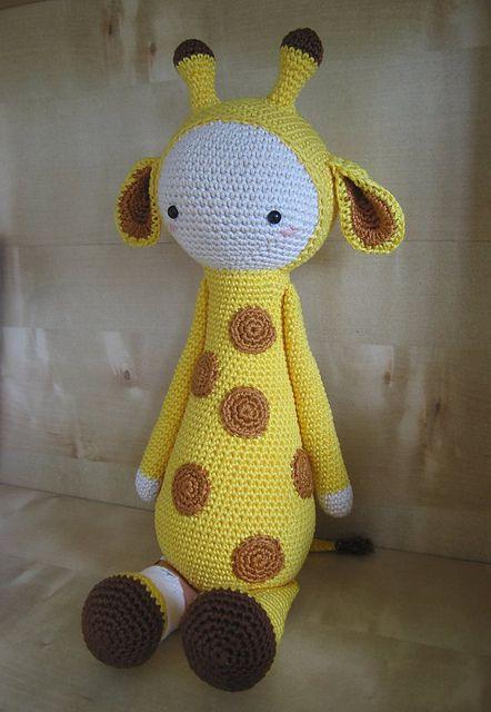 Ravelry: Poolvos' Krissie the Giraffe