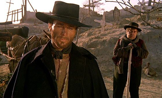 Franco Nero in Django.