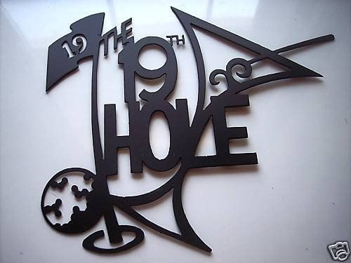Metal Golf Wall Decor : Best images about golf room ideas on