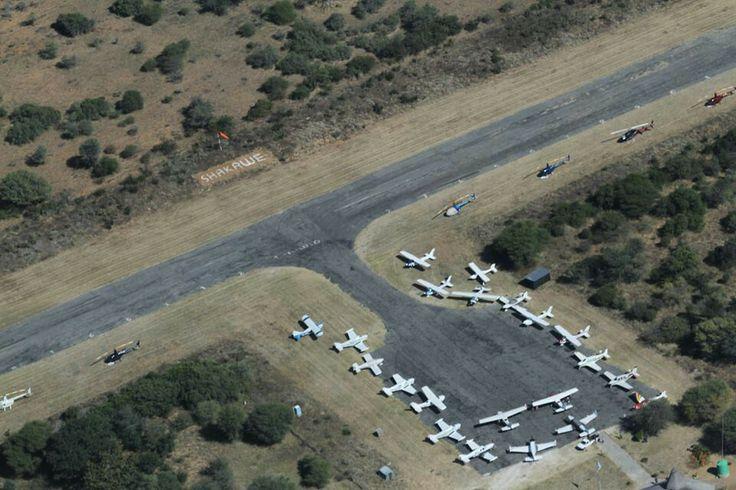 Botswana flying safari 2014