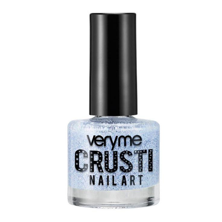 Лак топ для ногтей oriflame Blue Very Me Васильковый орифлейм Very Me Crusti Nail Art Orange орифлэйм 32531
