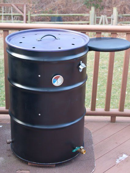 How to build an ugly drum smoker  - Grilling24x7.com                                                                                                                                                                                 More