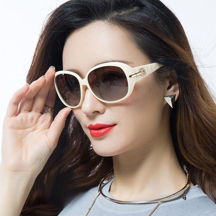 New Brand Retro Polarized Sunglasses Fashion Sunglasses Women's Sunglasses Vintage Women Sunglasses 6214