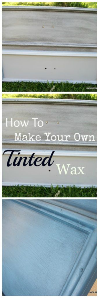 How To Make Dark Wax For Furniture