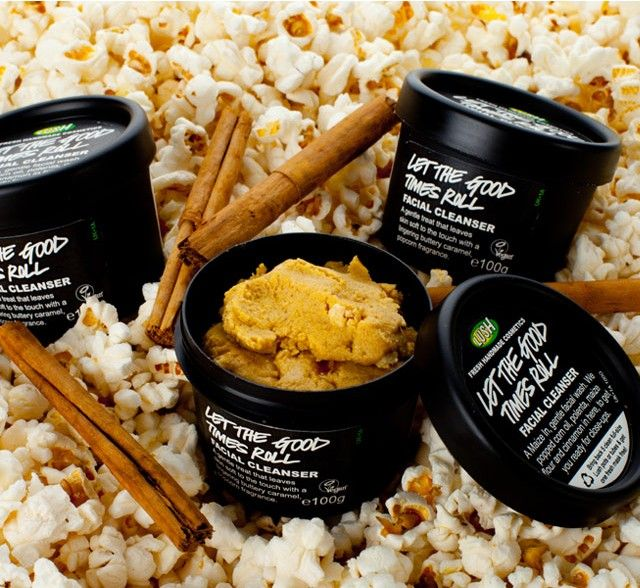 LUSH Let The Good Times Roll Face Scrub