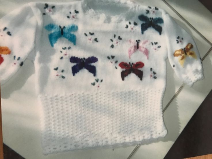 I knitted this for my granddaughter